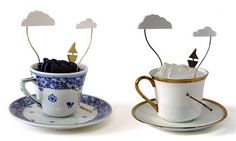 Storms in a Teapot, automatons made by John Lumbus out of Royal Delft.