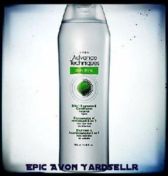 Brand New Avon Advance Techniques Daily Shine 2-in-1 Shampoo & Conditioner - Full Size