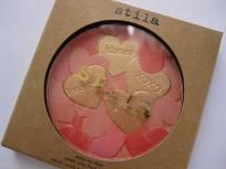 """BRAND NEW IN BOX!! $15  STILA MAKE ME BLUSH PALETTE  Stila's Make Me Blush Palette is a compact-style blush that's composed of a mix of pinks and coral with a gold overlay. Per Stila, """"The Make Me Blush Palette is embossed with a cute Conversation Heart..."""