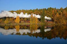 Goldener Oktober im Selketal von Andreas Leipoldt