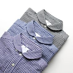 maillot (Maillot) sunset gingham work shirts (gingham work)