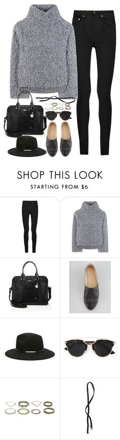 """Untitled#4202"" by fashionnfacts ❤ liked on Polyvore featuring Yves Saint Laurent, Vika Gazinskaya, Alexander McQueen, Chanel, Forever 21, Christian Dior and H&M"