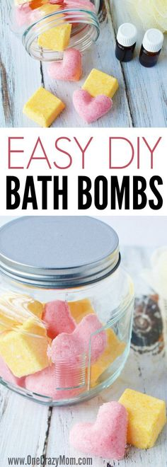 DIY Bath Bombs are so easy. You will love these homemade bath bombs. DIY bath bombs recipe is so fun. How to make bath bombs is so simple.