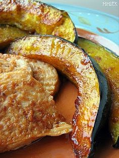 Best Spice Rubbed Pork Loin With Acorn Squash Recipe on Pinterest