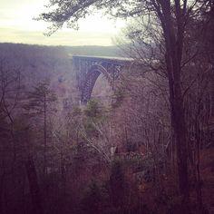 Eerie quiet in West Virginia. Photo courtesy of llbeantown on Instagram.