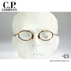 3020569f80964 CP Company CP 028, Vintage hexagon eyeglasses, 90s mens   women optical  frame,