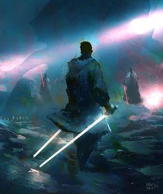 Jedi Master, Eren ARIK on ArtStation at http://www.artstation.com/artwork/jedi-master-21f18a84-7ff9-4e65-8f76-cfa84ed3c5ee