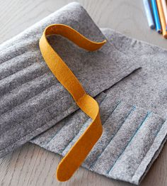felt roll | sewing needles crochet hooks