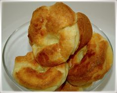 Yorkshire pudding.  Mmm..... I would be fine with just the popovers and some strawberry butter, like at the Neiman Marcus cafe.