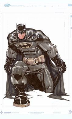 Batman by Humberto Ramos                                                       … Humberto Ramos, Dc Universe, Batman Universe, Batman Art, Im Batman, Superman, Comic Book Artists, Comic Books Art, Comic Art