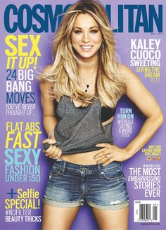 Kaley Cuoco is our May cover girl!