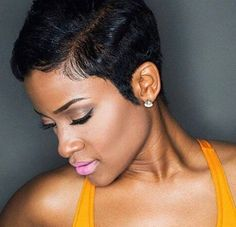 Top 99 Short Hairstyles For Black Women. Find More: www.excellenthairstyles.com