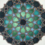 Sacred Geometry Patterns, Islamic Patterns, Tile Patterns, Cool Patterns, Geometric Art, Geometric Designs, Geometric Patterns, Exterior Wall Design, Arabic Pattern