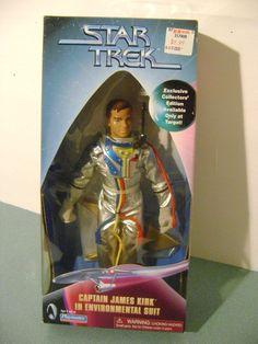 "Star Trek Target Exclusive Collectors Ed. 9"" Captain Kirk in Environmental Suit"