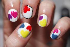 30 Uñas decoradas con corazones para San Valentín o día de los enamorados | Decoración de Uñas - Manicura y Nail Art