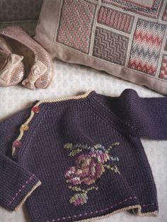 Кофточка спицами со схемой. Вязание детских кофточек спицами