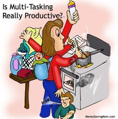Why there are some times when you shouldn't multi-task and how to distinguish between the two so you can be more productive.