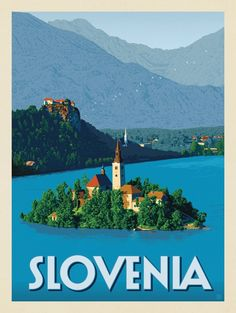 Anderson Design Group – World Travel – Slovenia Travel Ads, Travel Images, Travel Photos, Slovenia Travel, National Park Posters, Voyage Europe, Travel Illustration, Photos Voyages, World Photography