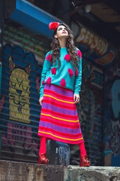 Q & A with fashions' funkiest pineapple, Agatha Ruiz De La Prada's daughter Cosima Ramirez