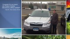 Dear Kate Mascelli   A heartfelt thank you for the purchase of your new Subaru from all of us at Premier Subaru.   We're proud to have you as part of the Subaru Family.