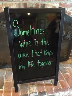 Is #wine your glue?