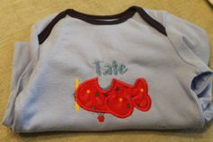 Applique Baby Gown.