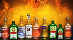 Hot Summer by Tony Lee on Rum, Vodka, Drinks, Bottle, Summer, Fotografia, Drinking, Beverages, Summer Time