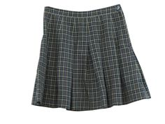 Swap the yellow for burgundy is this was my school uniform skirt--class of '88