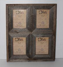 5x7 Reclaimed Wood Window Frame