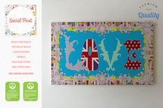 Love Canvas Print / FREE SHIPPING / love print, romantic canvas wall decor, bespoke canvas, Sex and the City wall art, canvas art, turquoise