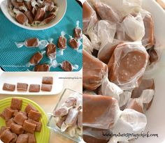 Summer Sensations: Salted Caramels in the Microwave