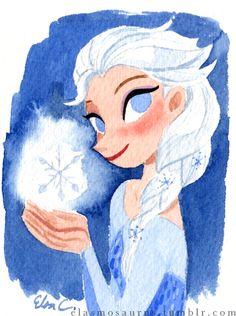 Elsa by Elsa Chang / elasmosaurus
