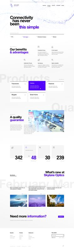 Skylane Optics — Homepage / Dogstudio