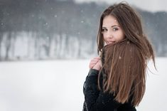 Nice winter portrait.