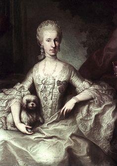 1765 Maria Luisa por Martin van Meytens (Hofburg, Innsbruck Áustria)