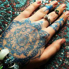 Mandala Tattoo-Henna
