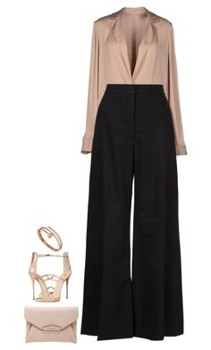 """The Best Around"" by hernamewaslily ❤ liked on Polyvore featuring Lanvin, STELLA McCARTNEY, Givenchy, Giuseppe Zanotti, Cartier and girlsnightout"