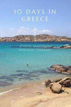 This itinerary covers everywhere from Athens to Santorini and Mykonos. Also, the best time to visit the islands to avoid crowds! Greece Itinerary, Greece Trip, Greece Travel, Mykonos, Santorini, Travel Bugs, Us Travel, Travel Guide, Honeymoon Spots