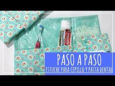 PASO A PASO Estuche para cepillo y pasta dental - YouTube