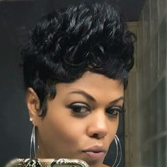 Read more about Black hairstyles 2019 Black Hairstyles Crochet, Cute Hairstyles For Short Hair, My Hairstyle, Pretty Hairstyles, Girl Hairstyles, Curly Hair Styles, Natural Hair Styles, Summer Hairstyles, Short Sassy Hair