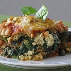 Whole Wheat Lasagna with Italian 'Sausage' and Peppers