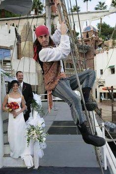 Treasure Island Las Vegas Pirate Ship Vow Renewal