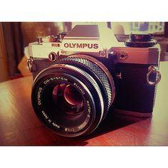 Olympus analog camera