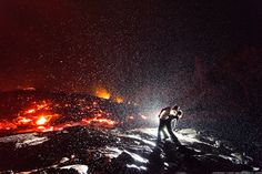 Lava_Kiss by Dallas Nagata White & Ed White  Being a good photographer doesn't mean anything if you don't get out there to epic locations and make magic.