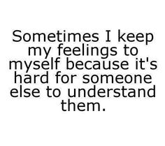 Understanding ...sadly more often than not