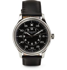 Mougin & Piquard x J.CrewGrande Seconde Stainless Steel Watch|MR PORTER