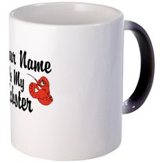 Personalize who your lobster is with this cute officially branded  #FriendsTVShow inspired coffee mug plus more Friends TV gifts