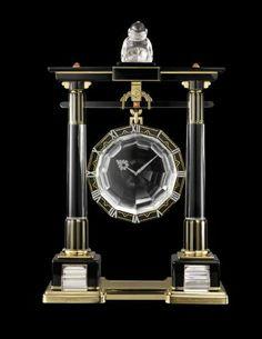 Interview: Cartier's Head of Heritage, Pierre Rainero on Grand Palais Exhibition Cartier, Mystery Clock, Grand Palais Paris, Unusual Clocks, Art Deco Movement, Antique Clocks, Horse Photos, Time Art, Vintage Diamond