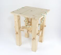 Is this how sustainable circular design should be made and shared? Enable ppl. to understand and build upon. Check out the Schoeneber Stool that doesnt need screws or glues and is easy to make hack and adapt.