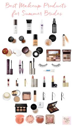 The ultimate bridal makeup products! From green beauty, to drugstore, and luxury brands this guide to wedding makeup covers it all.